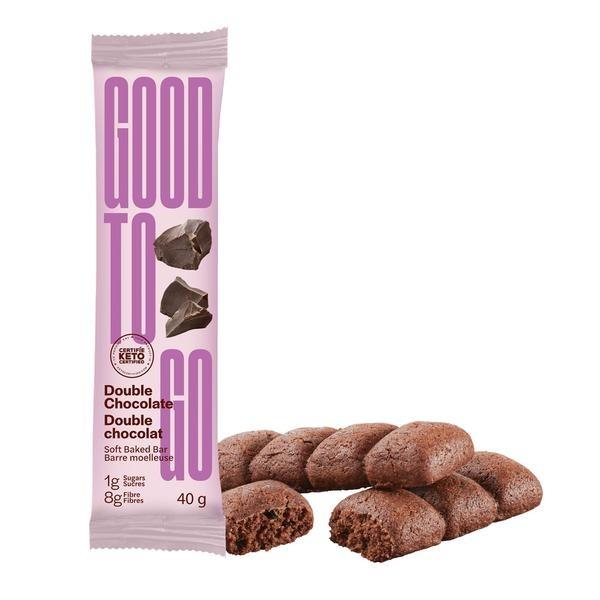 Barre keto double chocolat- 40g