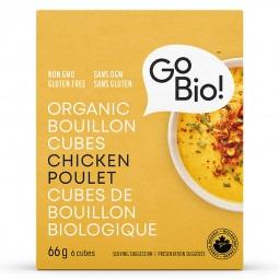 Cube bouillon poulet bio- 66g