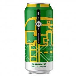 Bière sans gluten Helix Farmhouse- 473 ml