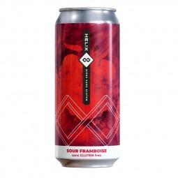 Bière sans gluten Helix framboise- 473 ml
