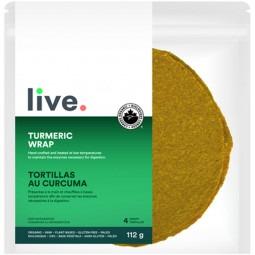 Tortillas au curcuma bio- 112g