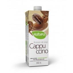 Boisson de soya cappuccino bio. 946 ml.