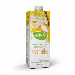 Boisson soya vanille bio- 946ml