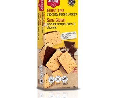 Biscuits trempés dans le chocolat- 150g