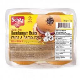 Pains à hamburger sans gluten- 300g