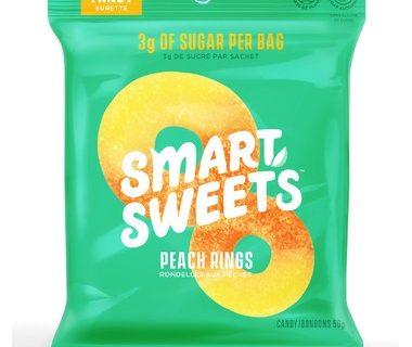 Rondelles aux pêches Smarts Sweets- 50g