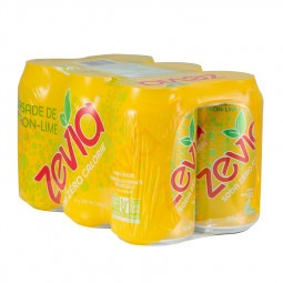 Zevia torsage citron-lime- 6x355ml