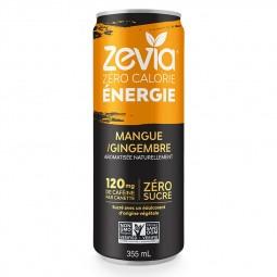 Boisson Zevia mangue gingembre- 355ml