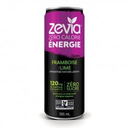Zevia énergie framboise lime- 355ml